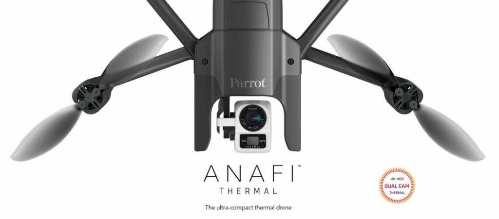 Drone Parrot Anafi Thermal camara dual