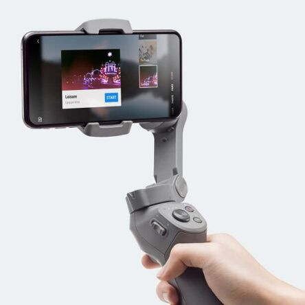 DJI Osmo Mobile 3 cuadrado App Mimo