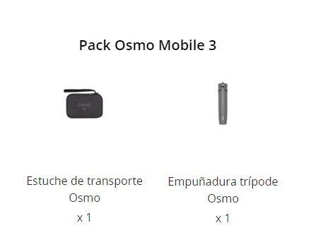 Pack Osmo Mobile 3 En la Caja