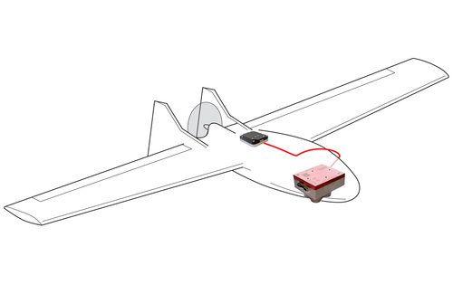 Agrodrone ala fija con MicaSense RedEdge MX