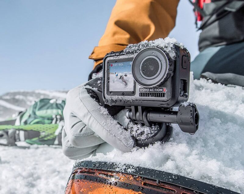 DJI Osmo Action nieve