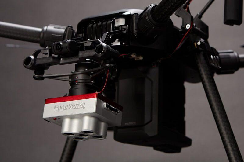 Sensor multiespectral MicaSense Rededge MX
