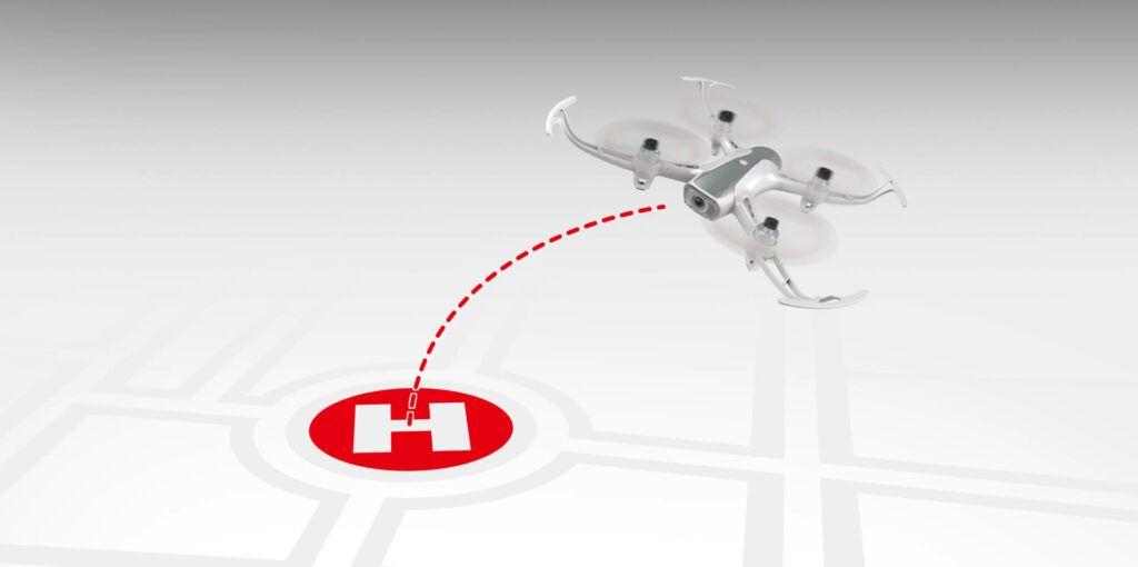 Dron FPV GPS Syma W1 Pro GoHome