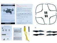 THE FOLLOWER FOLDABLE GESTURE SENSOR DRONE UNBOX