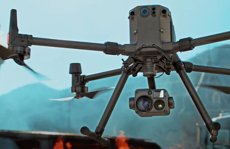 DJI Matrice 300 RTK drone y Zenmuse H20T