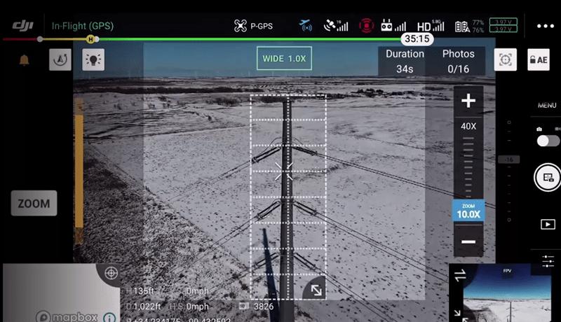 H20T Mosaico alta resolución