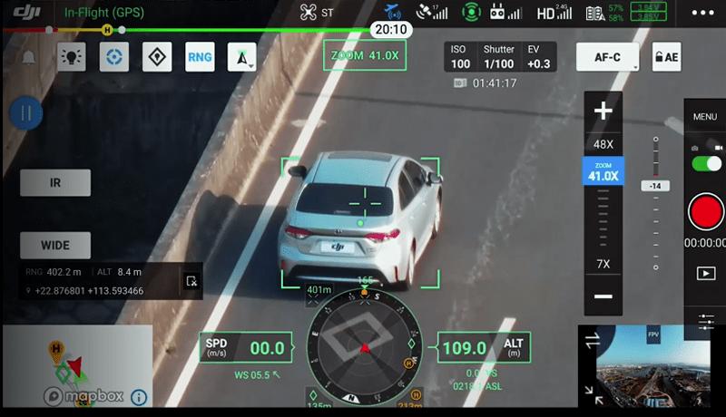 H20T Seguimiento Traking inteligente