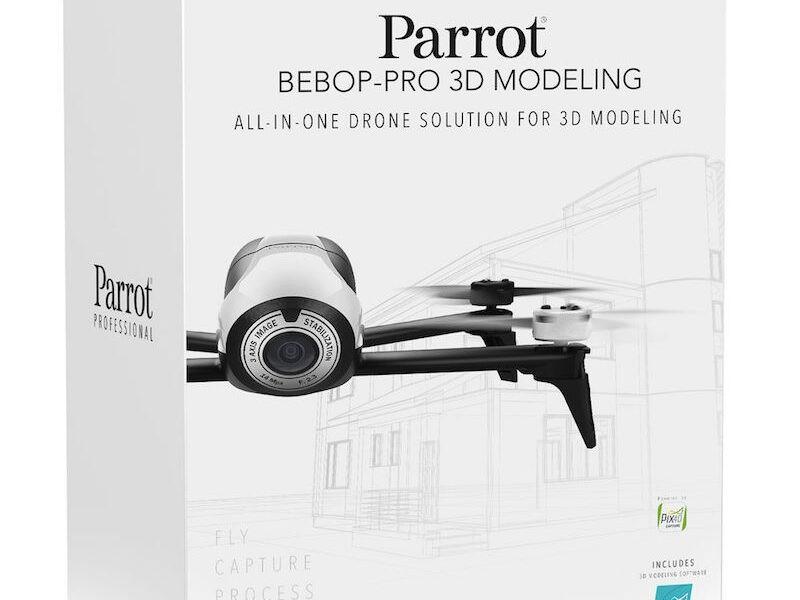 Bebop Pro 3D modeling