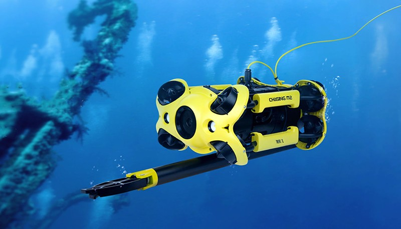 Chasing M2 equipado con brazo robótico