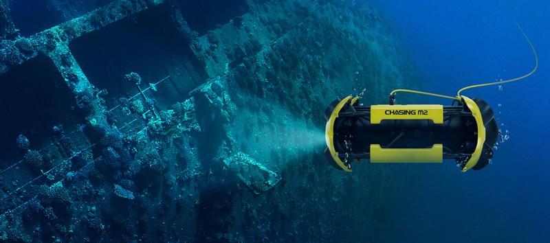 Chasing M2 ROV de inspecciones subacuaticas.