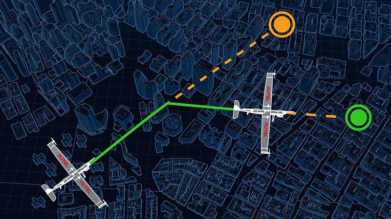 Autel DragonFish permite Planificación de misiones avanzadas.