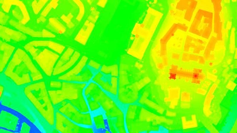 Moddelo digital de Superficie (DSM) con Pix4D Mapper