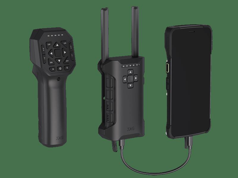 Accesorios para control del drone XAG Xmission.