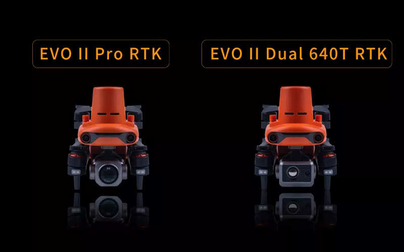 Dos versiones de Autel: EVO 2 PRO RTK vs EVO 2 DUAL RTK