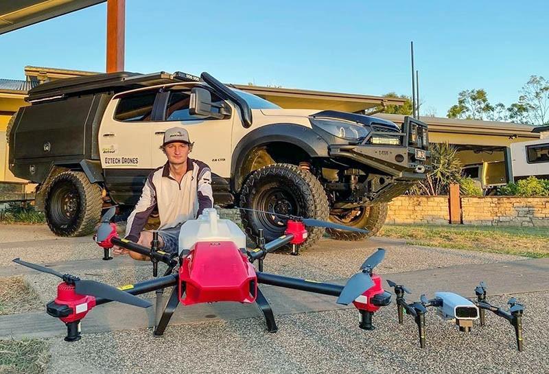 El XAG Xmission es compatible con los drones de fumigación de la serie P