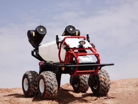 Vehículo terrestre no tripulado para trabajos agrícolas 🚜 XAG® R150