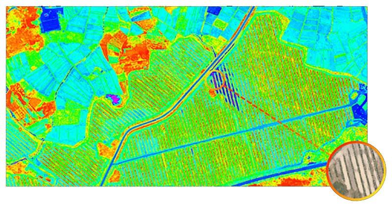 Xmission captura imágenes multiespectrales precisas y de alta resolución