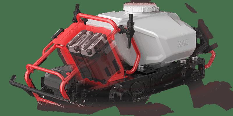 El Xag R150 monta dos baterias inteligentes para una autonomía de 4 horas