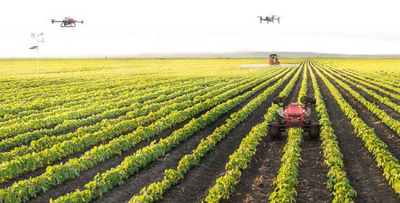 Inteligencia Artificial XAG aplicada aexplotaciones agrícolas eficientes y autónomas.