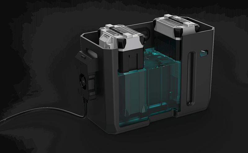 Estación de carga ultra rápida refrigerada por agua del XAG Xplanet