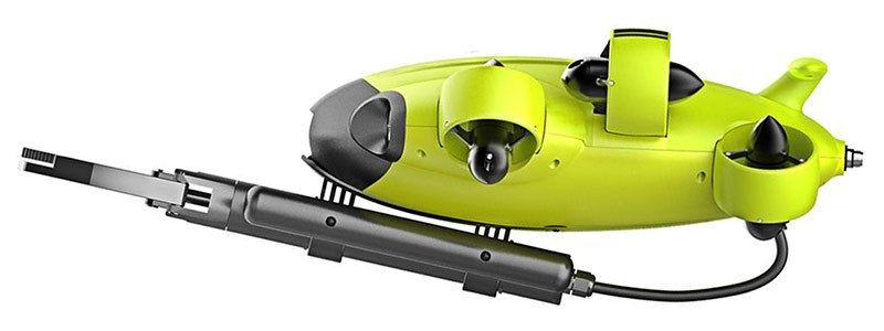 Fifish V6 S con brazo robotico