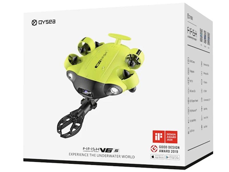 Embalaje de fábrica del Fifish V6S