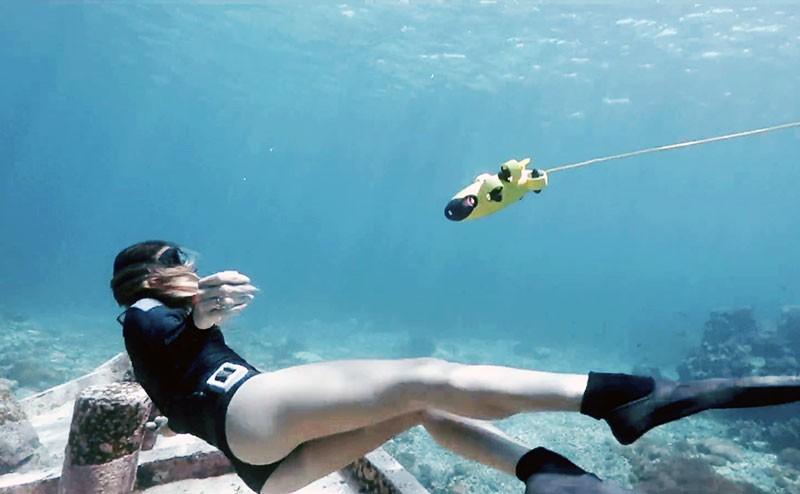 QYSEA Fifish V6 está diseñado especialmente para tomar videos y fotos bajo el agua.