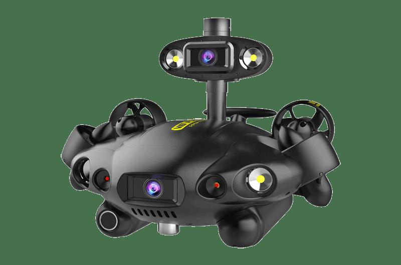 Fifish PRO V6 PLUS equipado con cámara Q.
