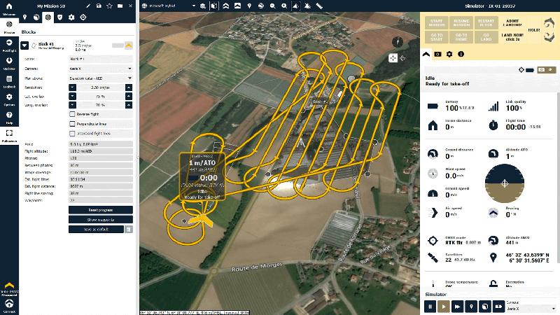 SenseFly eMotion, el software de vuelo del eBee Geo