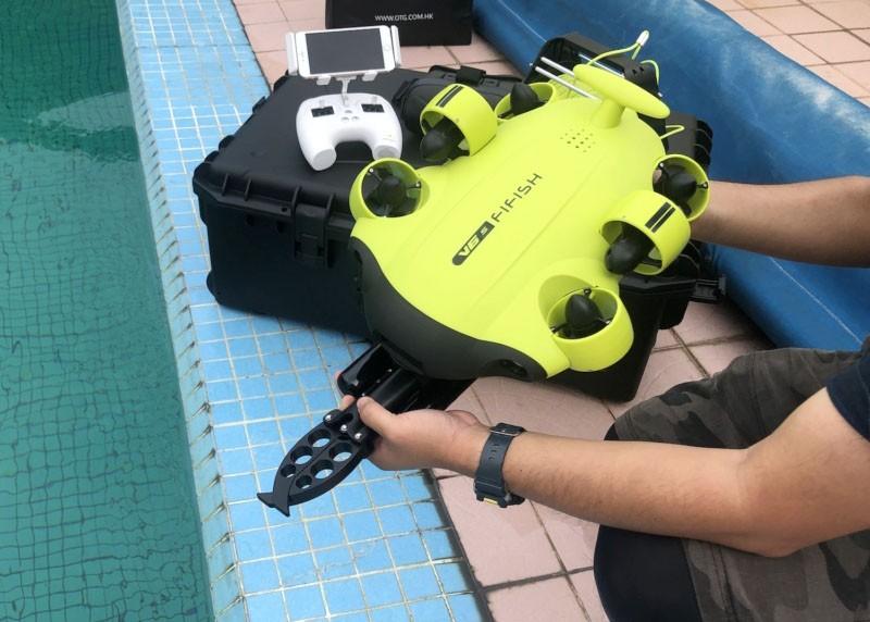 QYSEA Fifish V6 ROV es pequeño y manejable