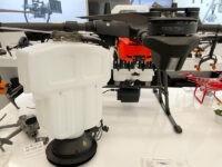 Tanque esparcido de semillas y fertilizante para drones agrícolas DJI