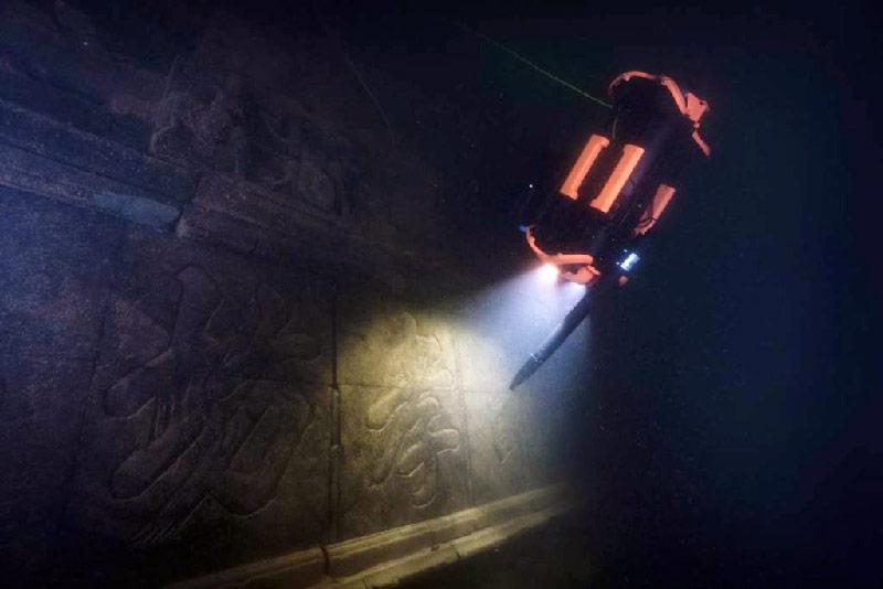 Chasing M2 Pro en una exploración de arqueología submarina.
