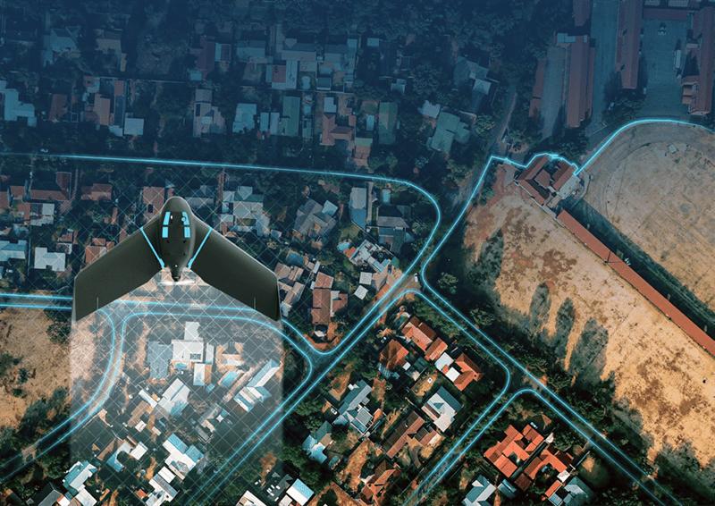 SenseFly eBee Geo drone para cartografia precisa