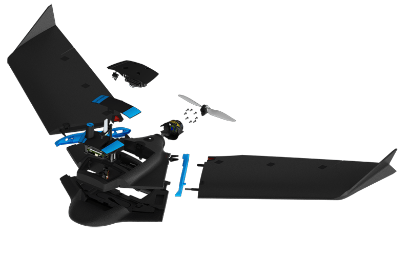 Diseño modular del SenseFly eBee Geo