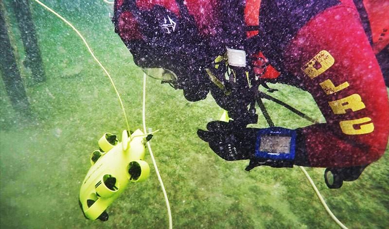 dron submarino para exploración QYSEA Fifish V6