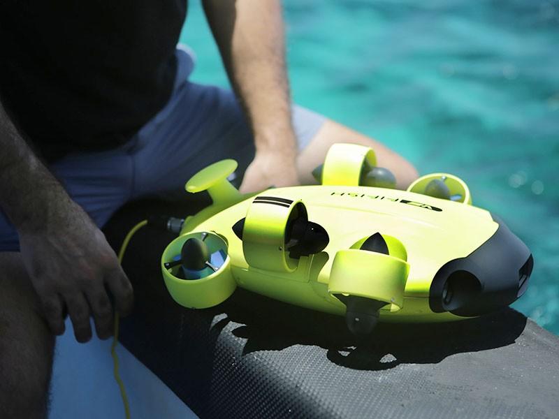 QYSEA Fifish V6 ROV es bonito pequeño y manejable