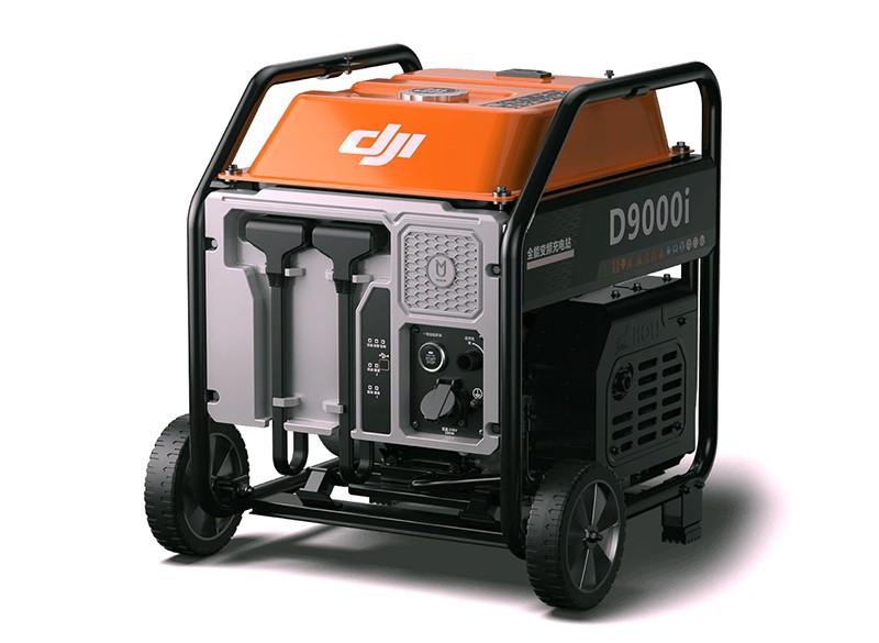 Generador eléctrico a gasolina DJI D9000i.