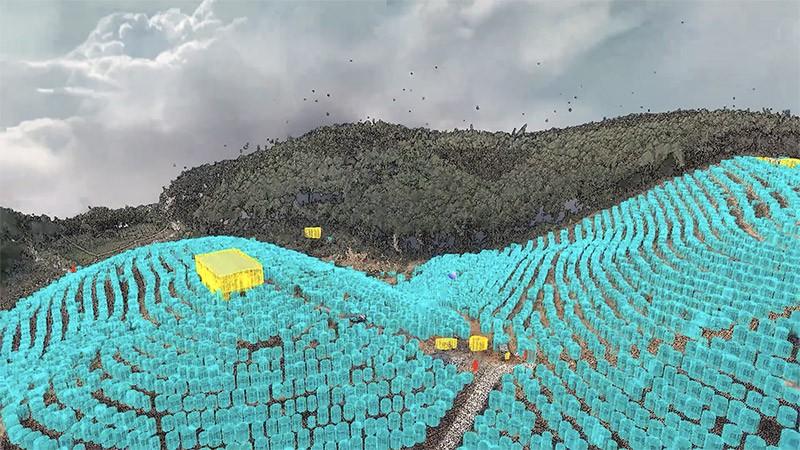 Mapas agricolas inteligentes para reconocimiento de plantaciones del dron XAG V40