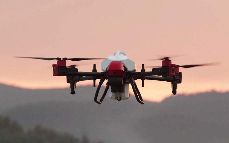XAG P80 el dron agrícola de mayor capacidad en 2021.