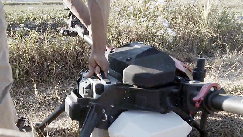 XAG V40 Carga de bateria inteligente.
