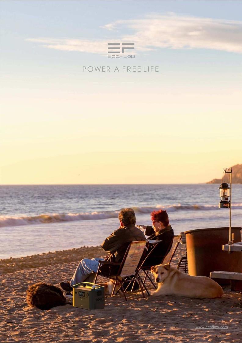EcoFlow RIVER Estación de energía eléctrica portátil. Potencia: 288Wh - 720Wh