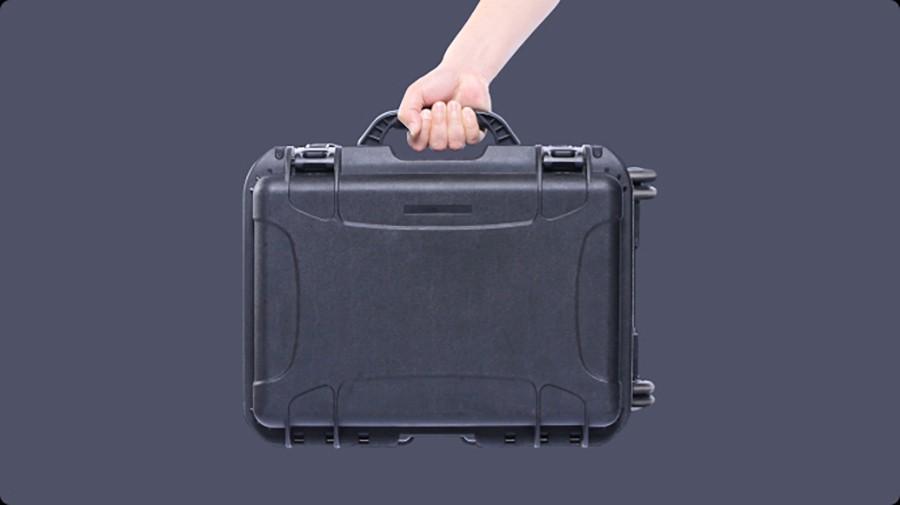 LA consola de Control Chasing es ergonómica y fácil de transportar