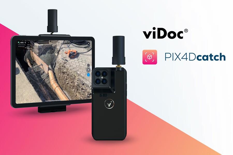 viDOC para PIX4DCatch. Fotogrametría precisa con dispositivos Apple