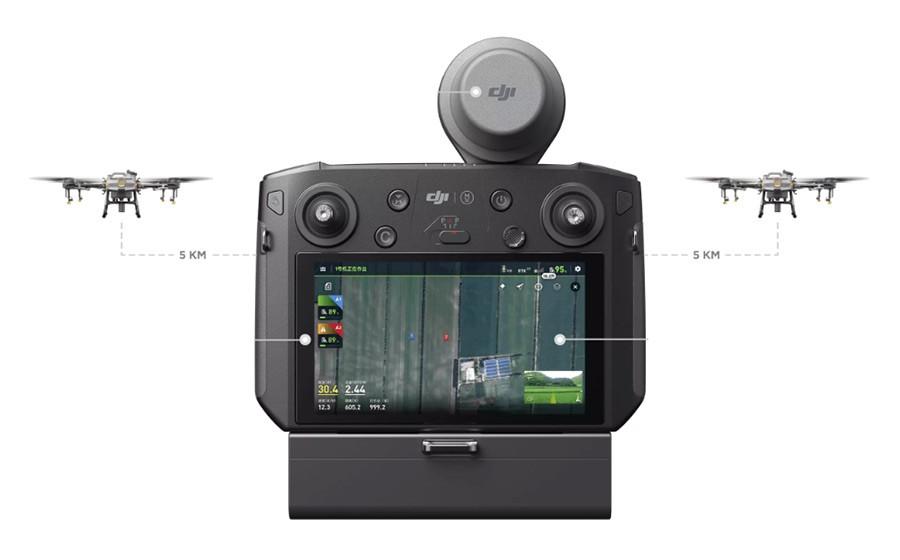 Control remoto con pantalla de alto brillo DJI Agras T10
