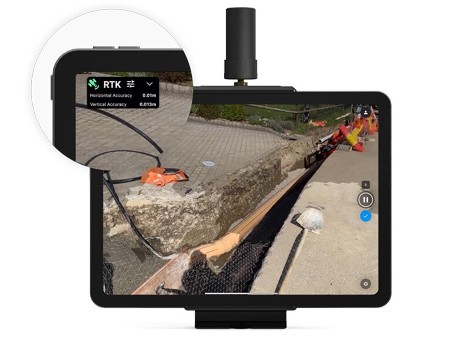 viDoc captura el entorno con una precisión RTK de 5 cm