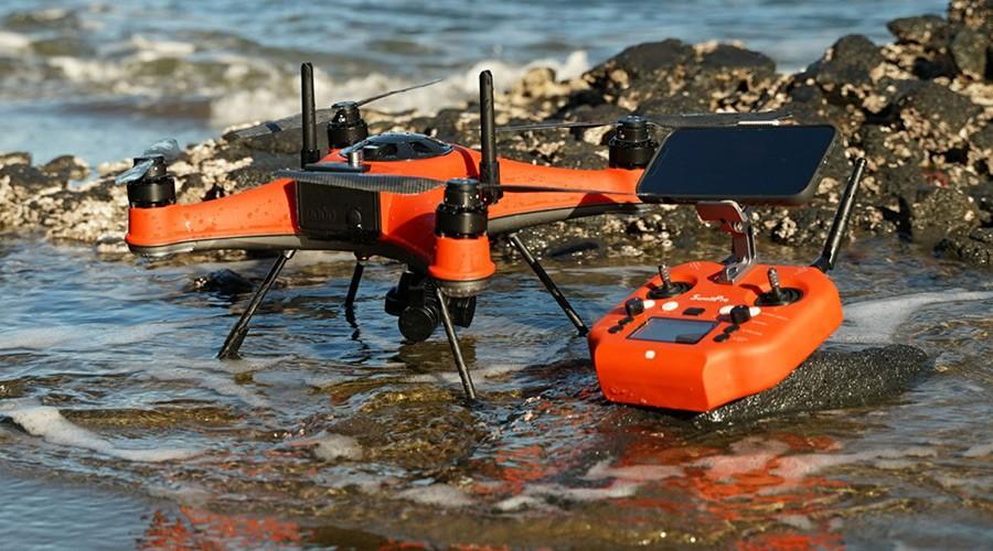SwellPro Splash 4 hidro Drone y mando impermeables Ip67