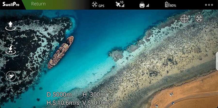 App de vuelo Smartphone Splash 4