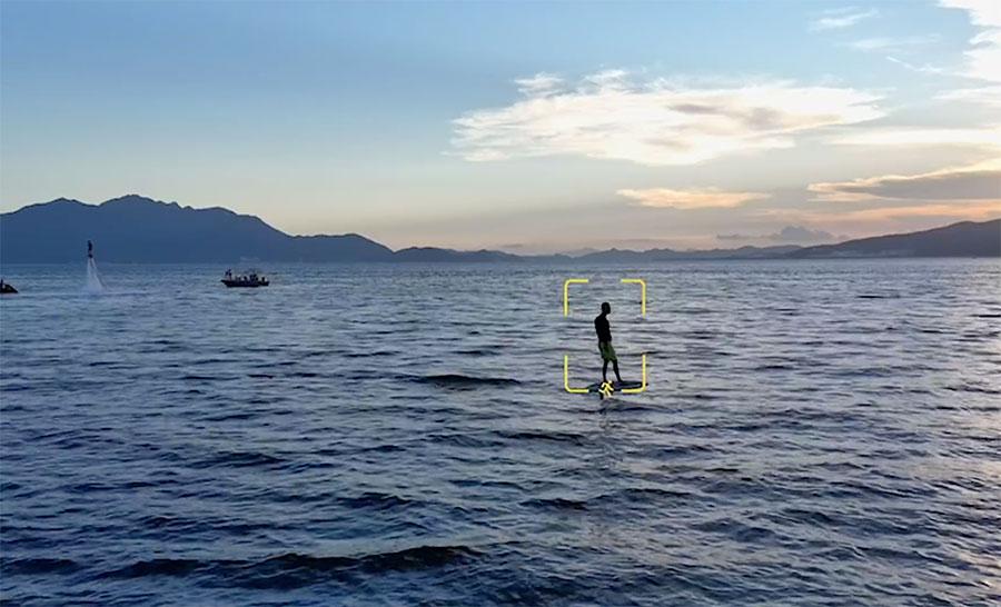 El Autel EVO cuenta modos de video automáticos y seguimiento de objetos