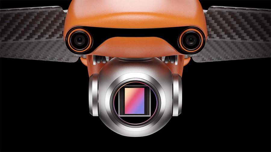"""El EVO Lite + monta una cámara con sensor CMOS de 1"""""""