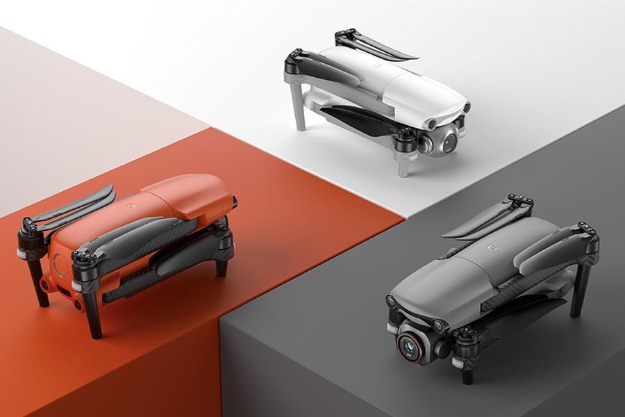 Autel EVO Lite + en tres atractivos colores diferentes.